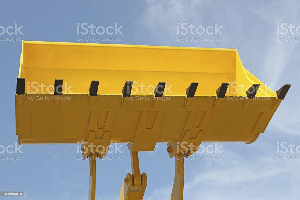 excavator bucket royalty-free stock photo