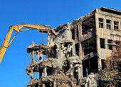 Excavator for demolition