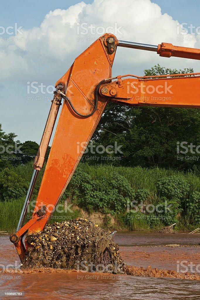excavator ładowarek kołowych zbiór zdjęć royalty-free