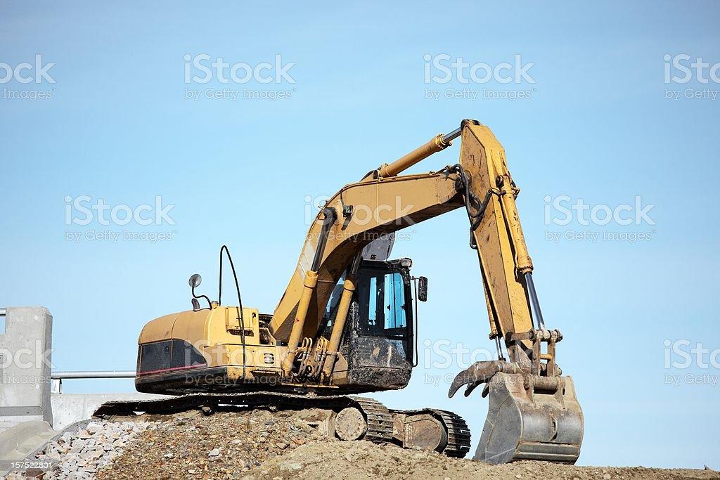 Excavator royalty-free stock photo