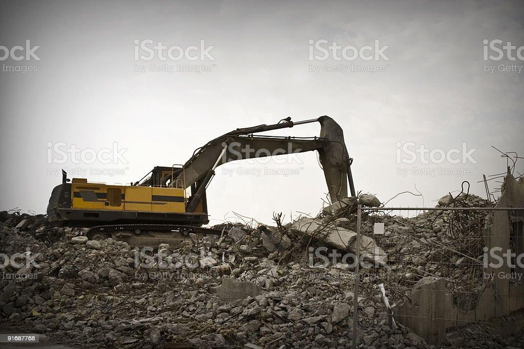 Excavator! royalty-free stock photo