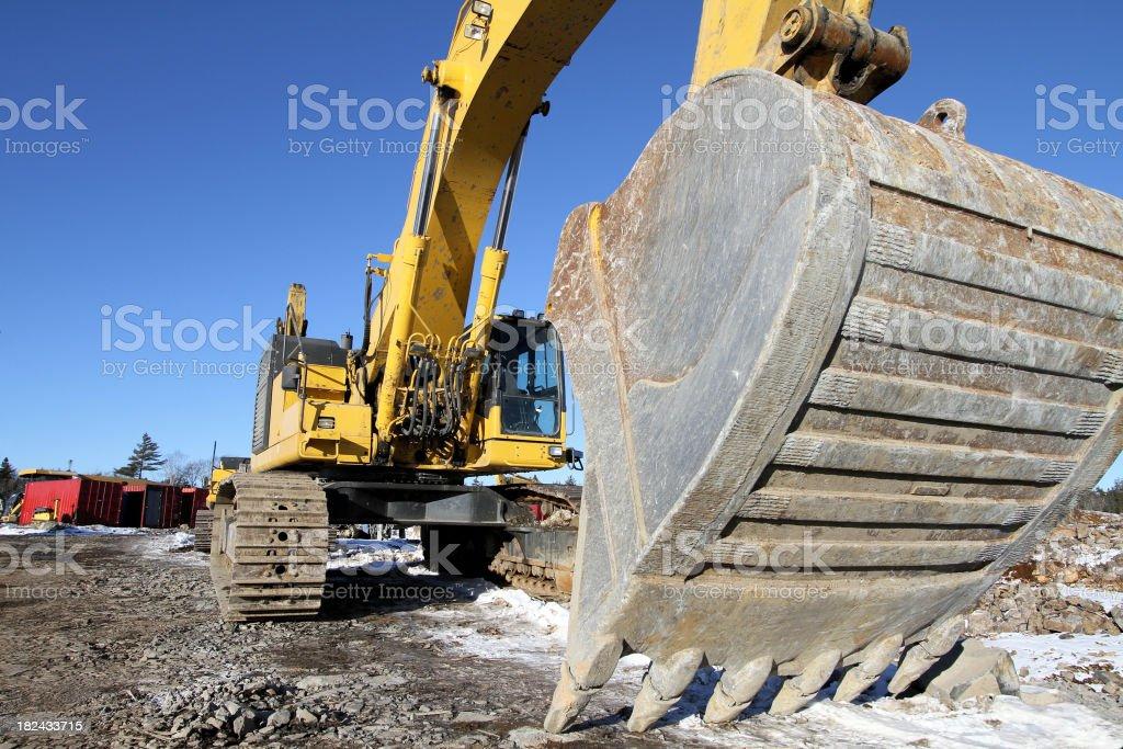 Excavators Bucket royalty-free stock photo