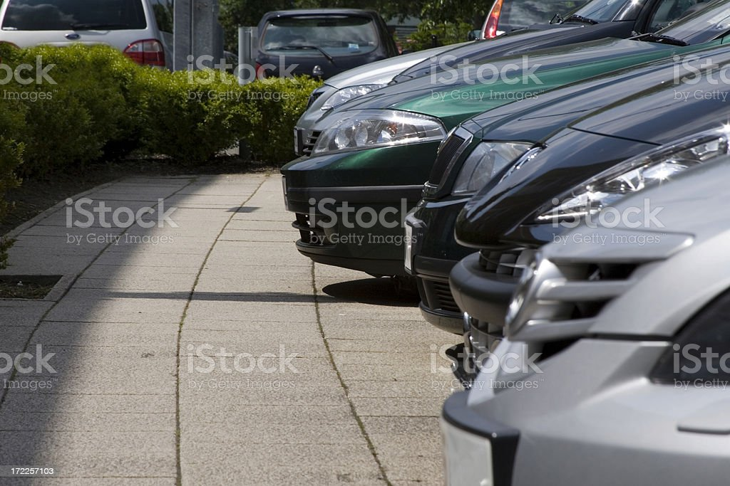 Excecutive Parking royalty-free stock photo