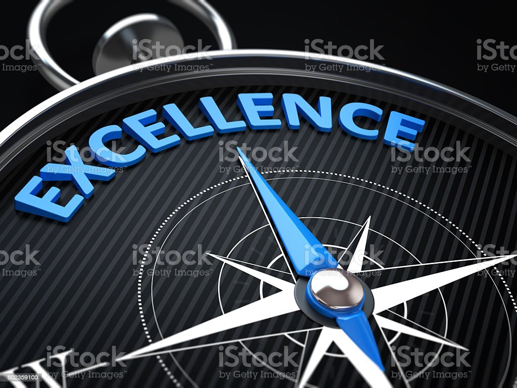 Excellence stock photo