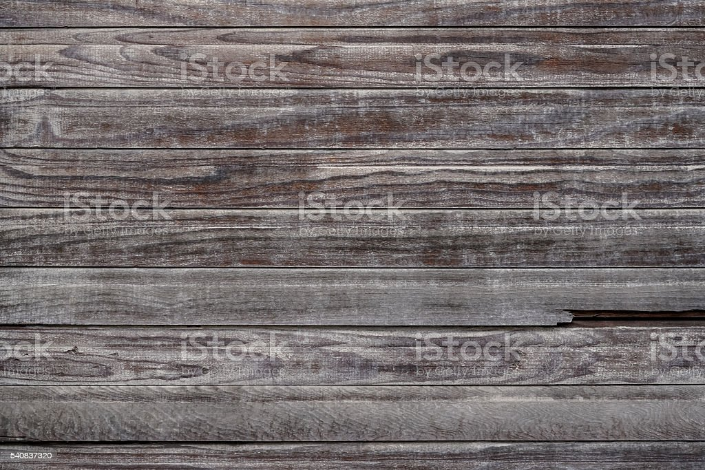 Excellent antique weathered wooden jalousie with perfect weather stock photo