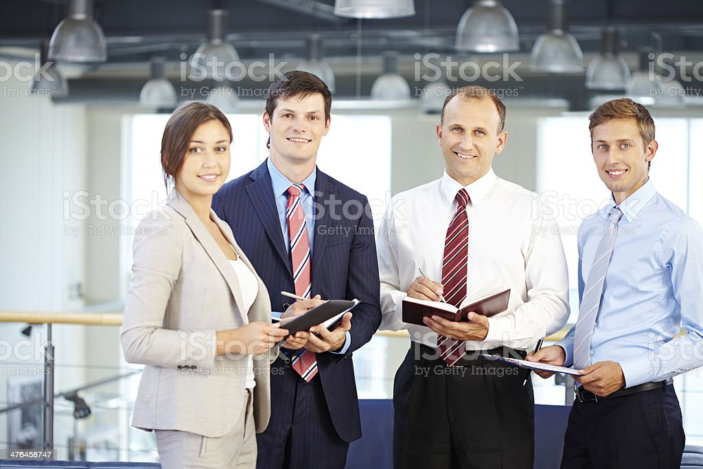 Excellent business team royalty-free stock photo