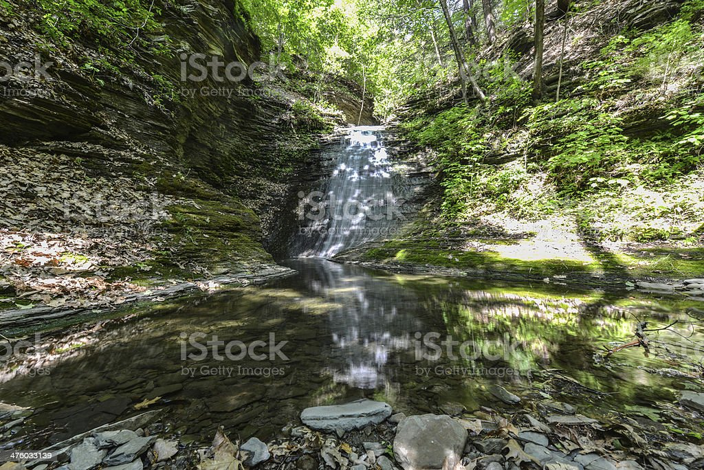 Excelsior Glen Falls, Watkins Glen, NY stock photo