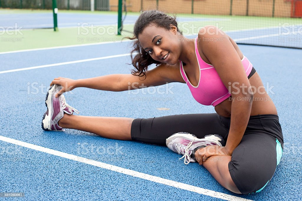excercise woman royalty-free stock photo