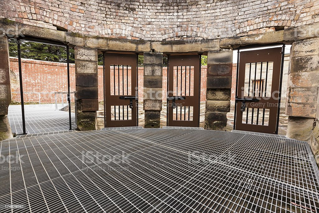 Excersise Yard royalty-free stock photo