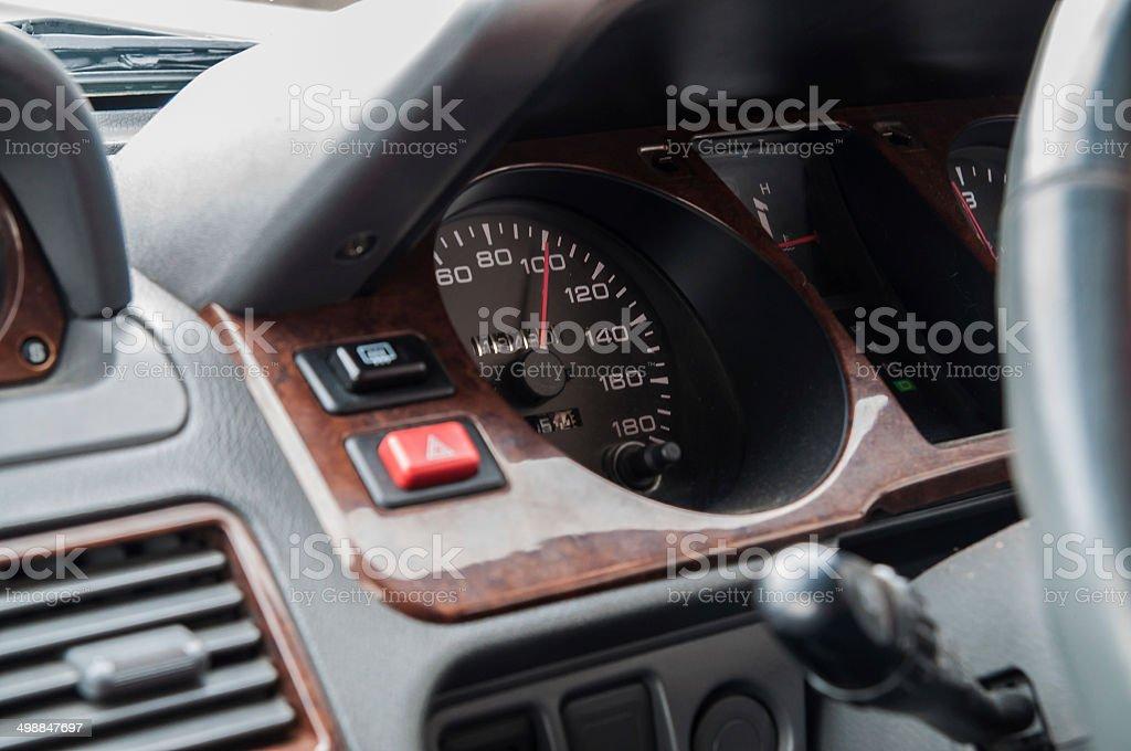 Excessive speeding stock photo