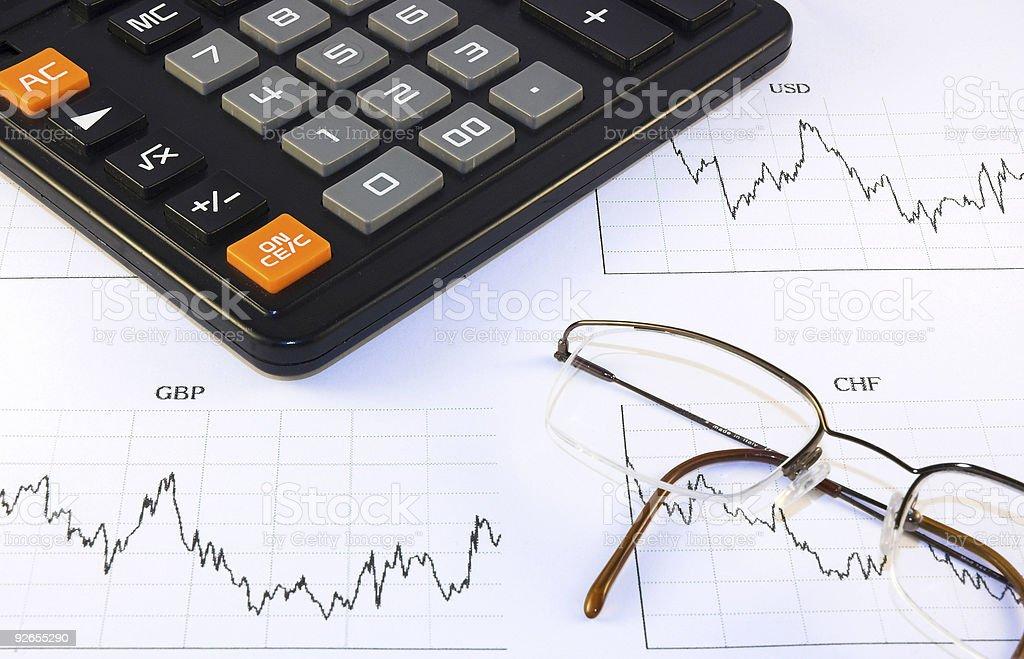 Exchange Rates 1 royalty-free stock photo