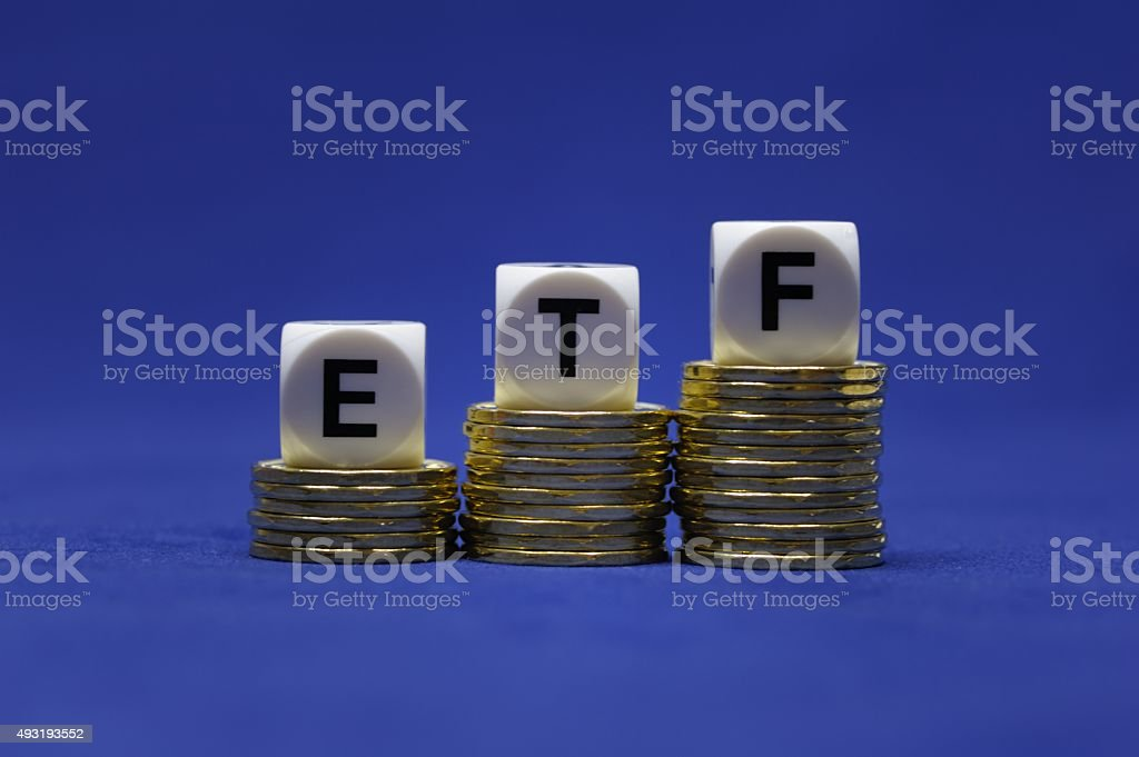 Exchange Traded Fund stock photo