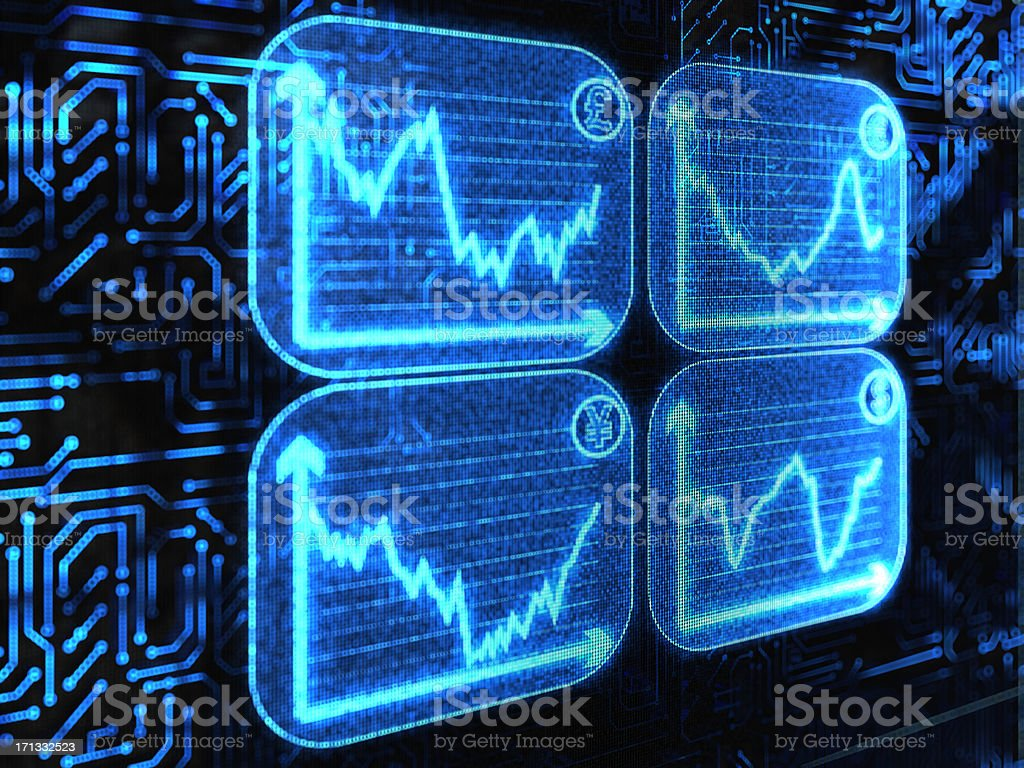 exchangerate royalty-free stock photo
