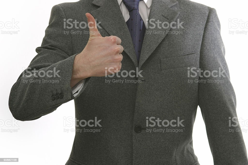 Excited about business royalty-free stock photo