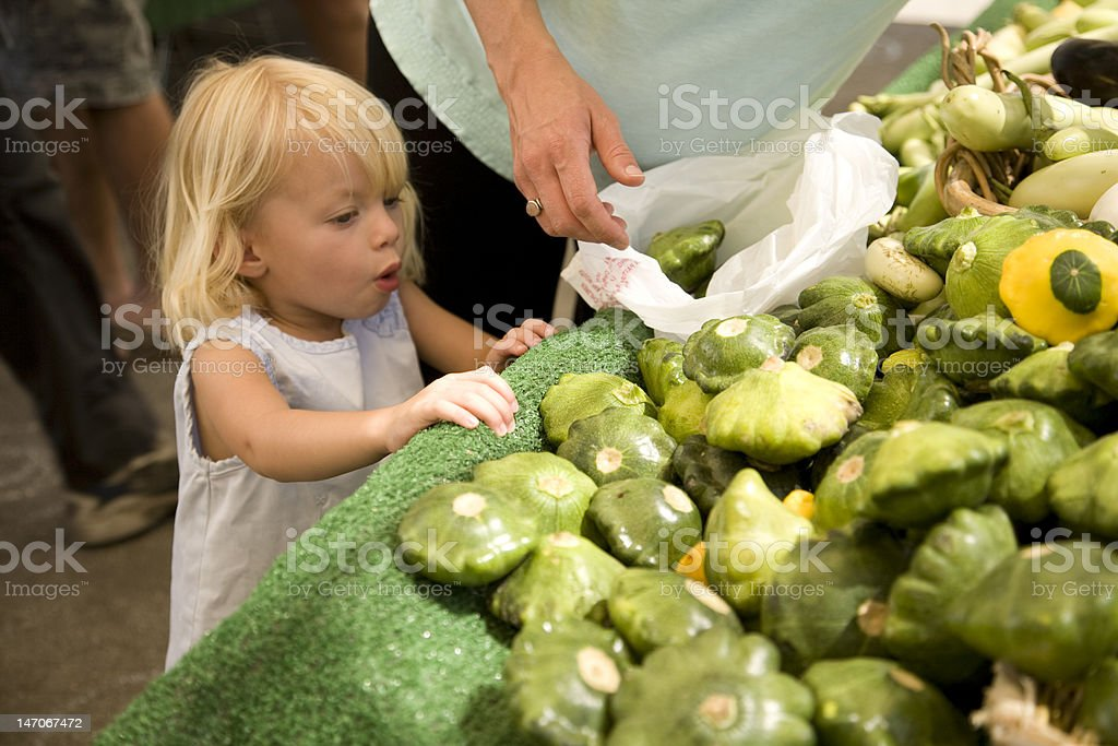 Excited about squash. royalty-free stock photo