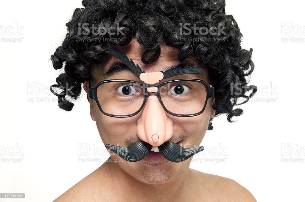 Excited Face royalty-free stock photo