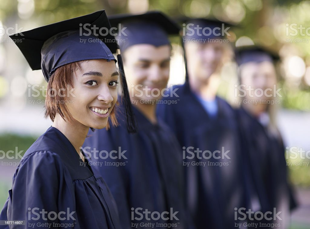 Excited for what is to come royalty-free stock photo