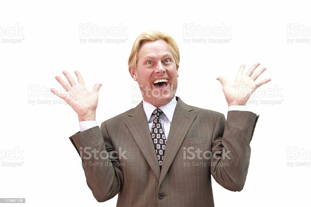 Excited! royalty-free stock photo