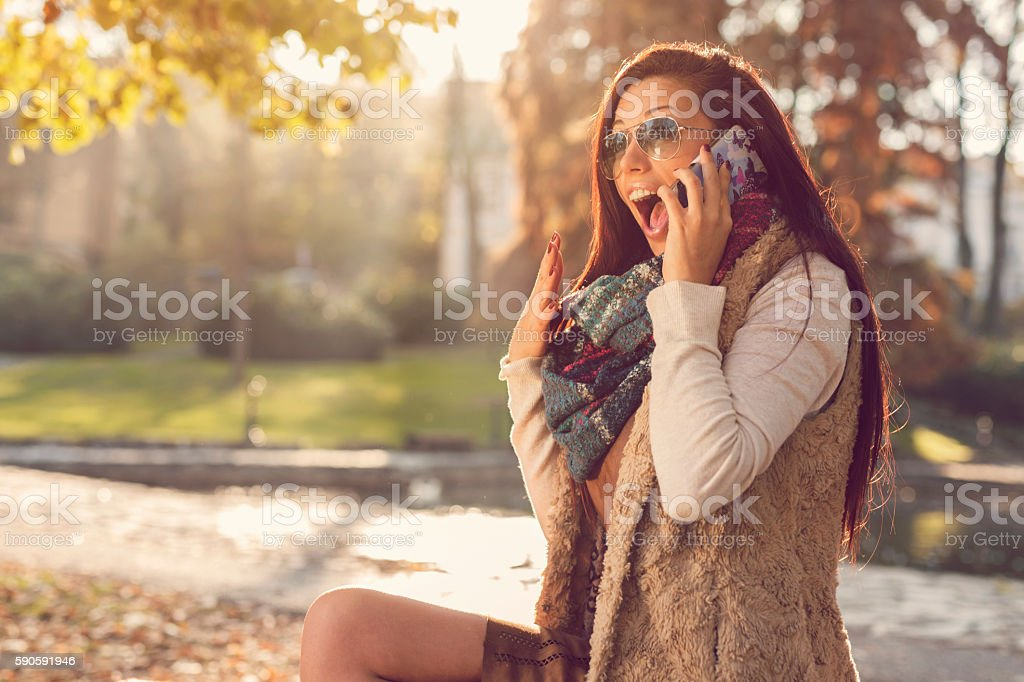 Exciting news stock photo