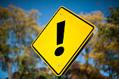 Exclamation mark / Road sign (Click for more)