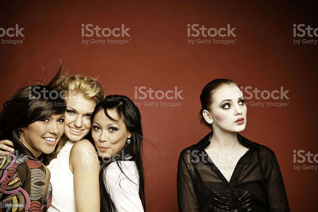 Excluded royalty-free stock photo