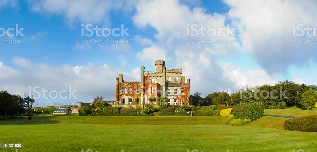 Exclusive country residence royalty-free stock photo