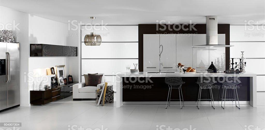 exclusive kitchen stock photo