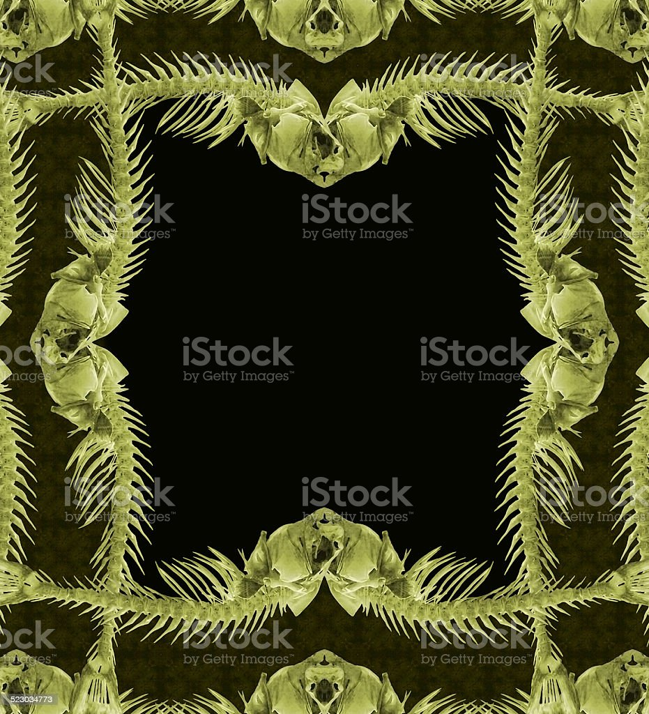 Exclusive Ornament Collage Frame stock photo