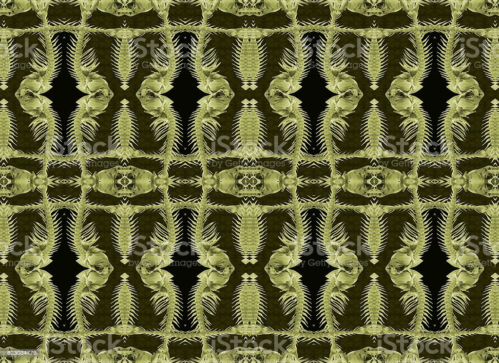 Exclusive Ornament Collage Pattern stock photo