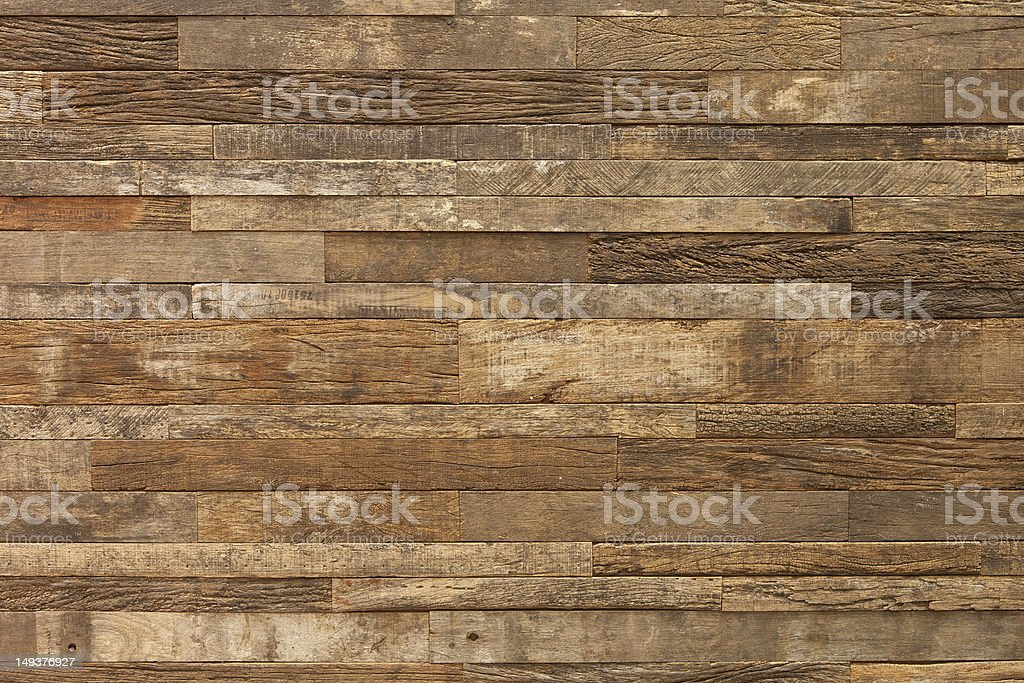 Exclusive wood wall royalty-free stock photo