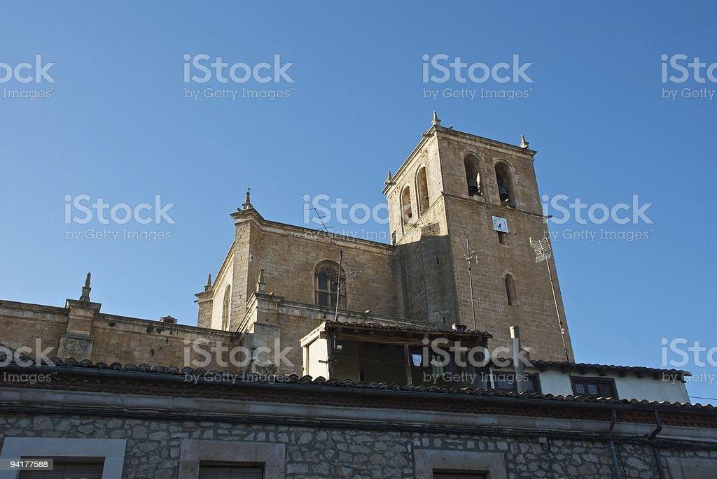 Ex-Collegiate church of Saint Agnes stock photo