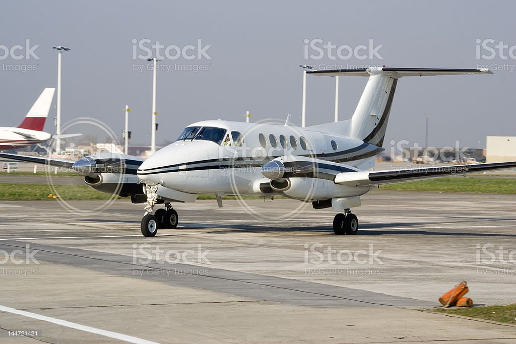 Executive aircraft royalty-free stock photo
