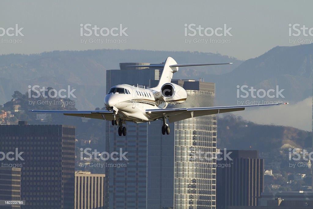 Executive Airplane stock photo