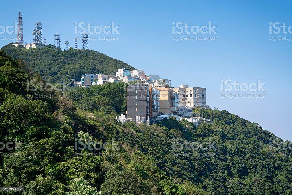 Executive Apartments, Hong Kong stock photo