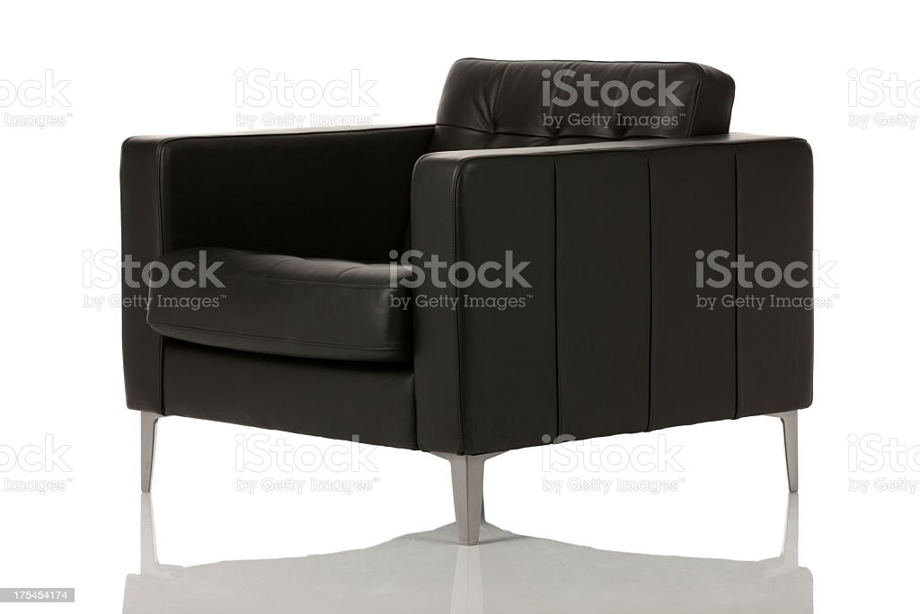Executive armchair stock photo