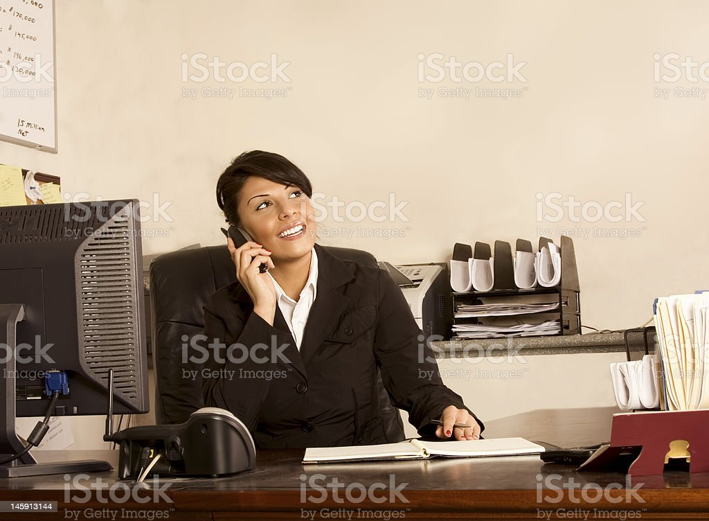 Executive assistant stock photo