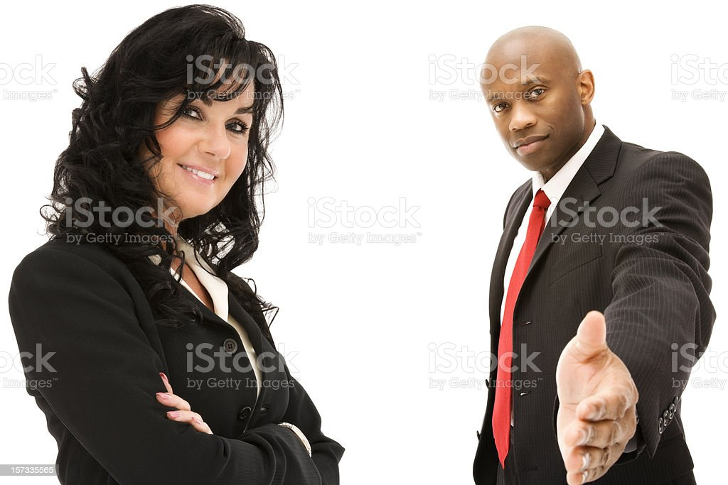 Executive Business Team  (Series) royalty-free stock photo