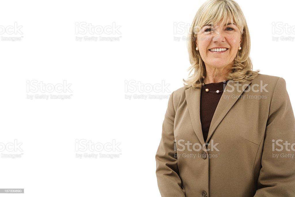 Executive Business Woman royalty-free stock photo