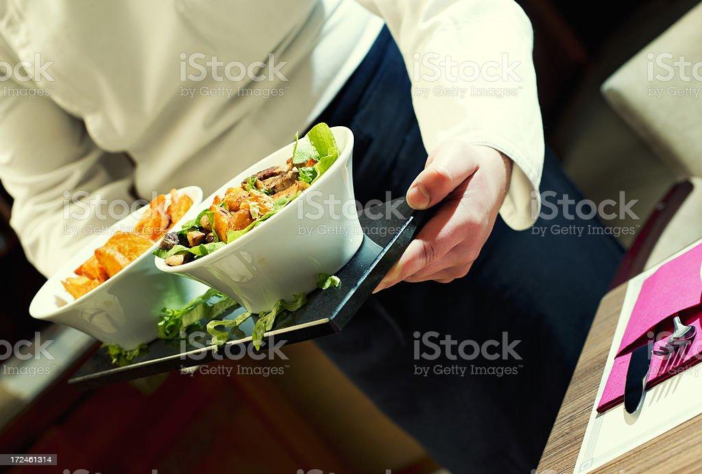Executive chef royalty-free stock photo