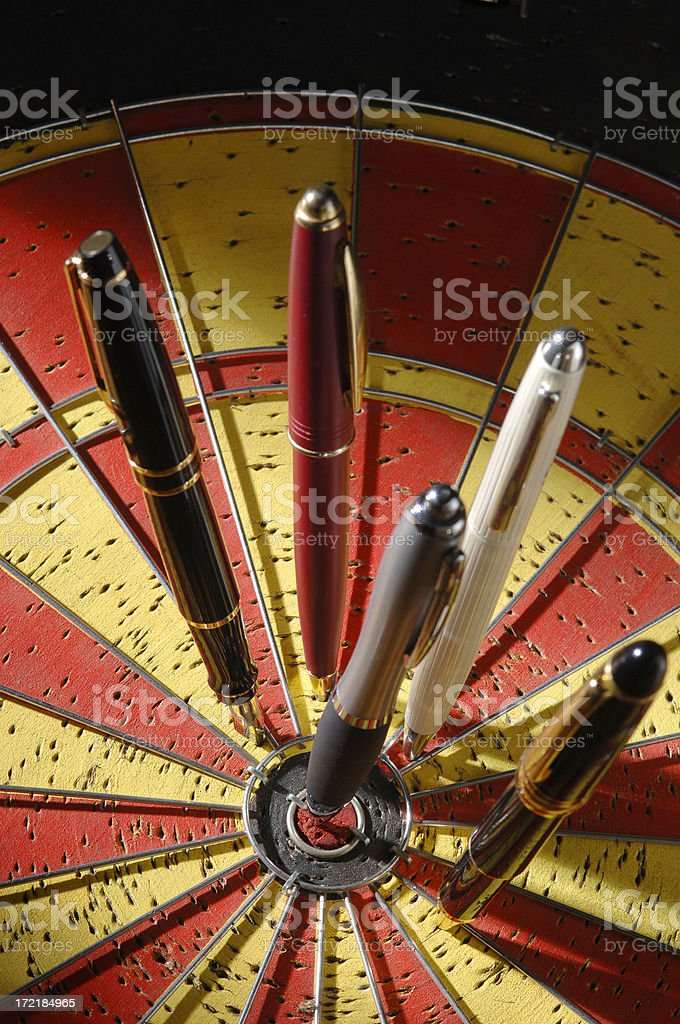 Executive Dart Sport royalty-free stock photo