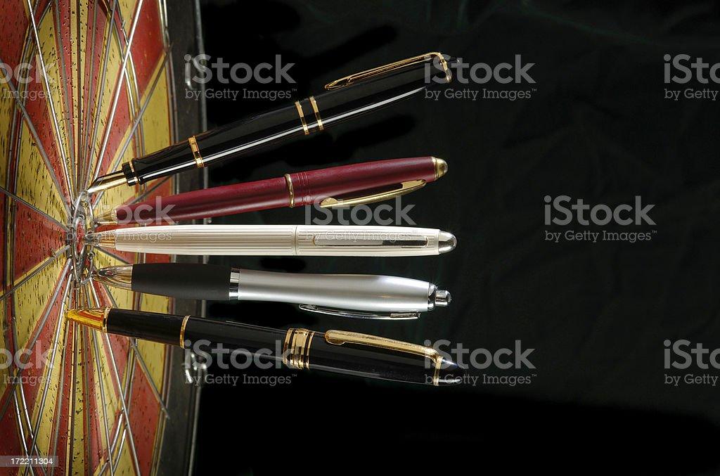 Executive Decision Techniques royalty-free stock photo
