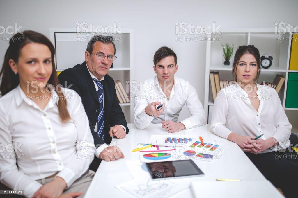 Executive Giving Presentation stock photo