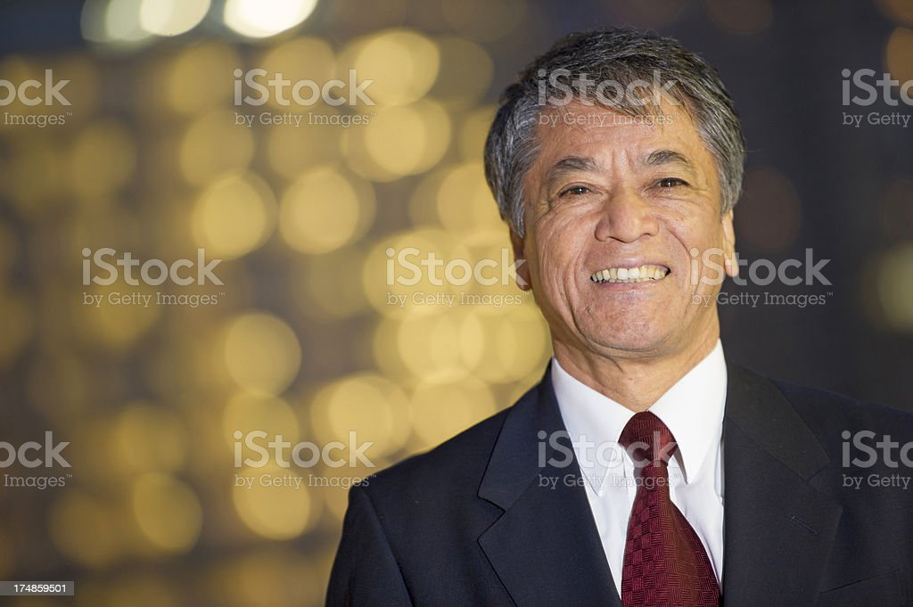 Executive Headshot royalty-free stock photo