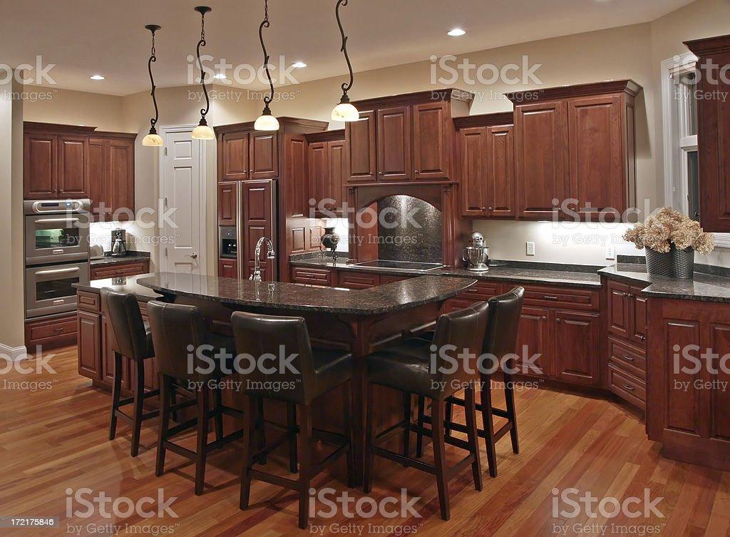 Executive Home Kitchen royalty-free stock photo