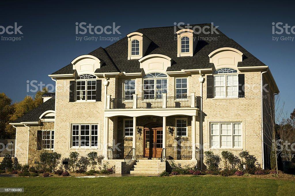 Executive Home royalty-free stock photo