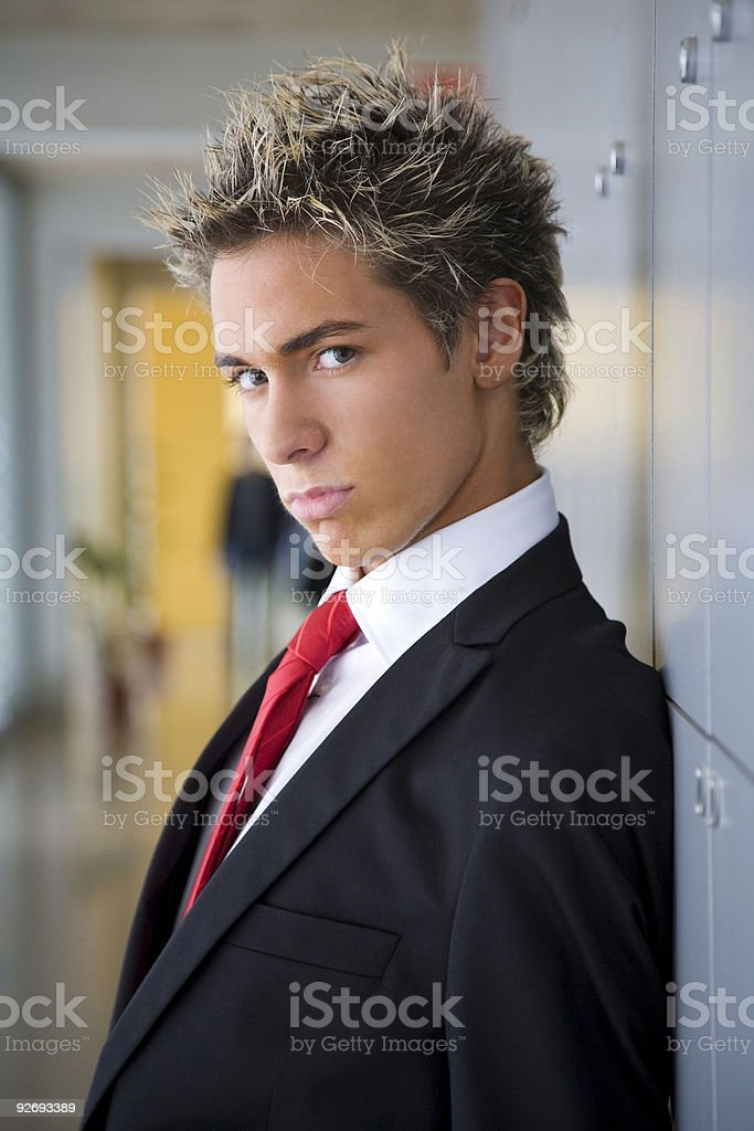 Executive in the office royalty-free stock photo
