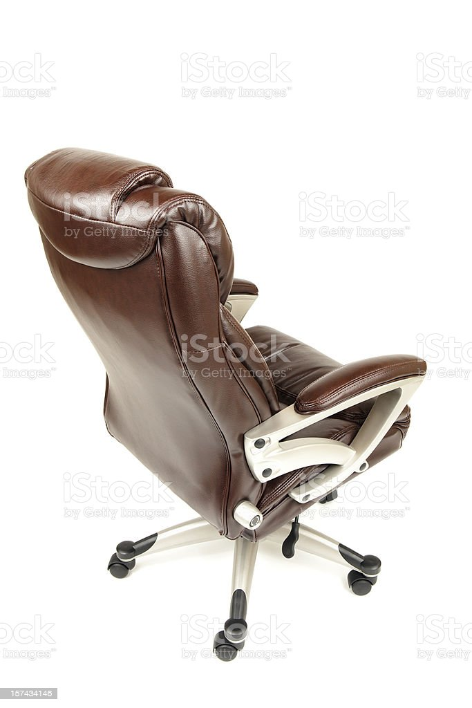 Executive Leather Office Chair royalty-free stock photo