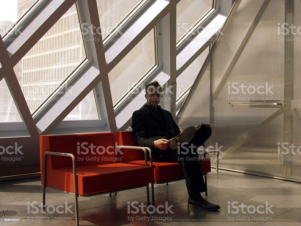 Executive Lounge 1 stock photo