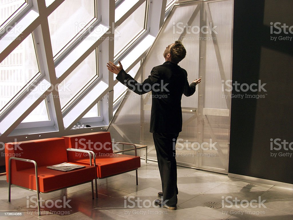 Executive Lounge 5 royalty-free stock photo
