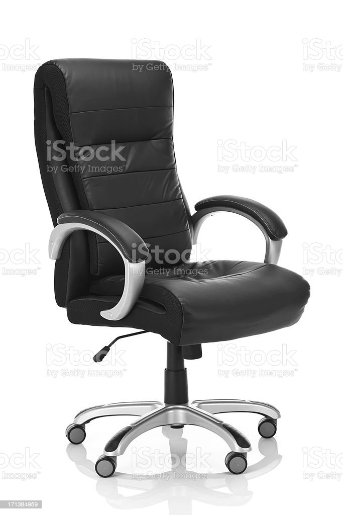 Executive Office Chair stock photo